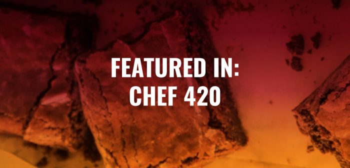 BHANG FEATURED IN CHEF 420'S CHOCOLATE BROWNIE RECIPE